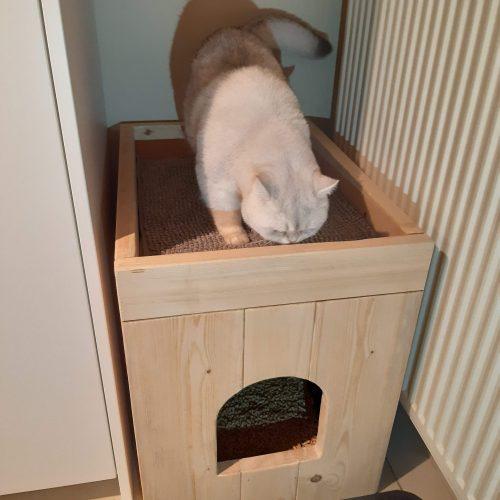Kattenbak ombouw Pers XL photo review
